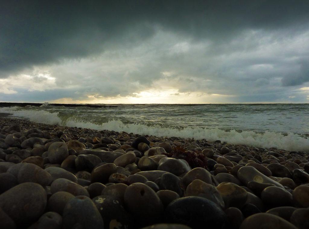 plage galets etretat