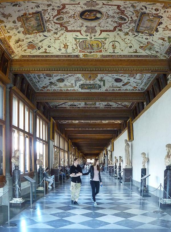 Corridor vasari Florence