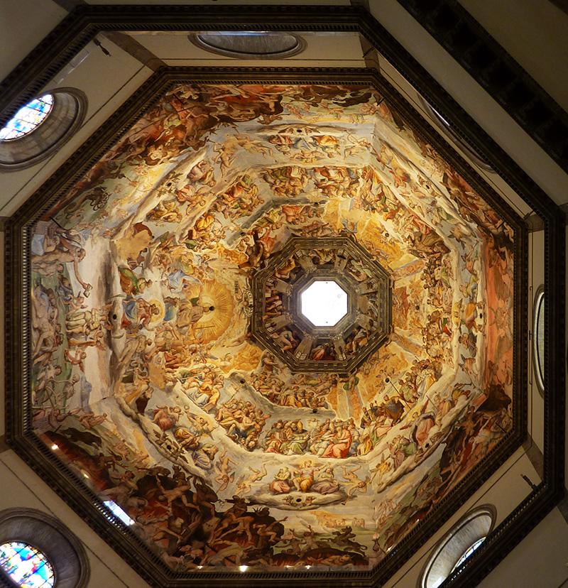 Dome et fresque Cathedrale Santa Maria del Fiore a Florence