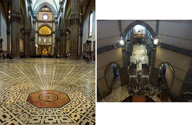 interieur cathedrale florence