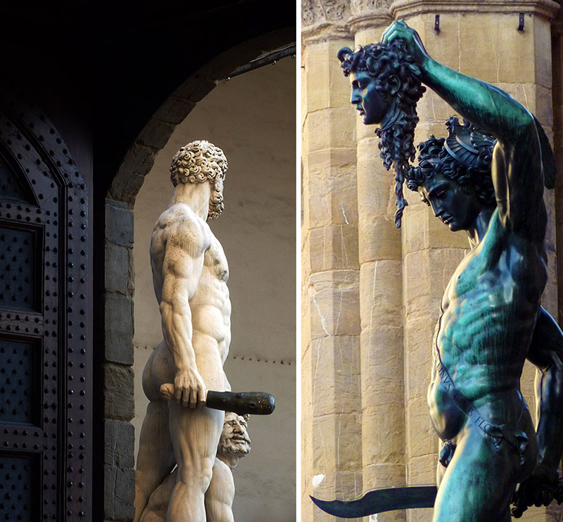 Hercules persee meduse a florence