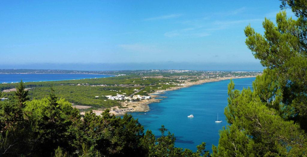 Panoramique de Formentera