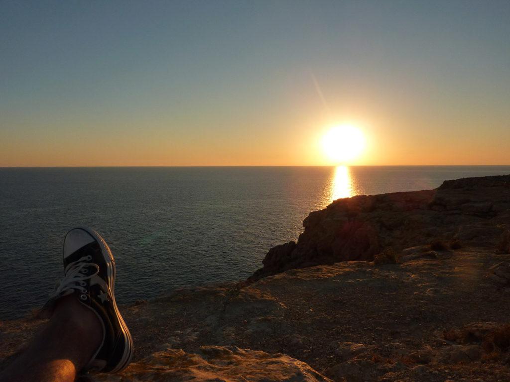 coucher de soleil au phare c est le pied