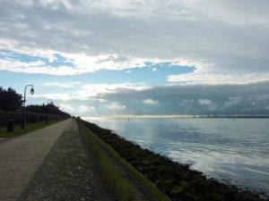 estuaire honfleur avec vue sur le havre