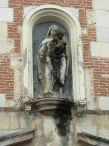 statue vierge honfleur