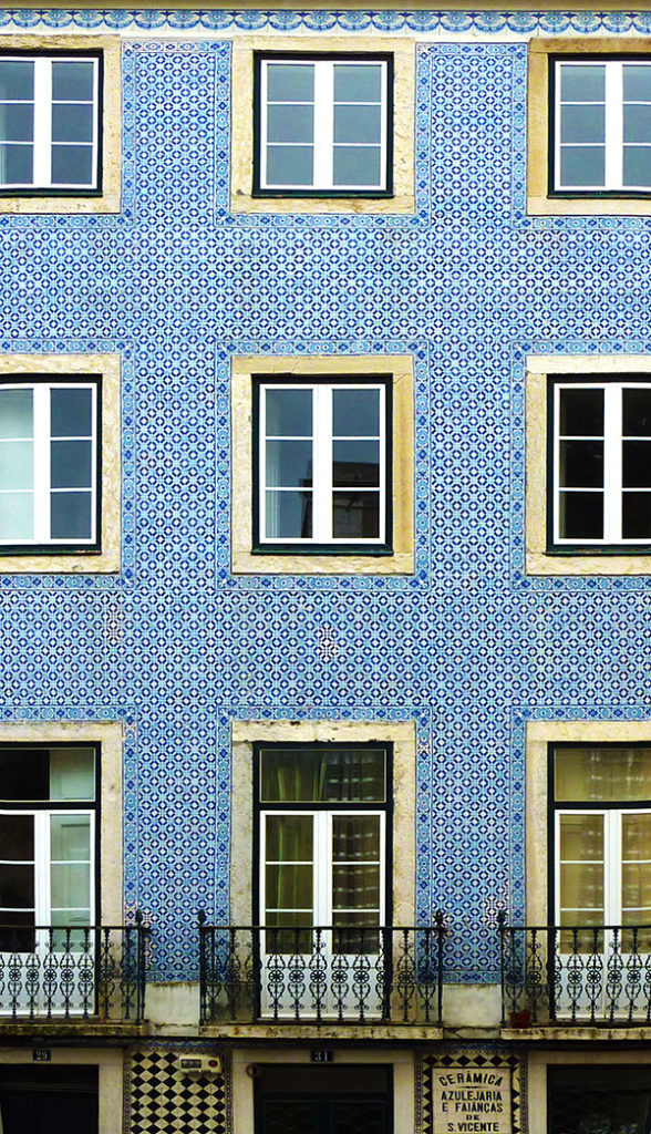 Azulejos a Lisbonne