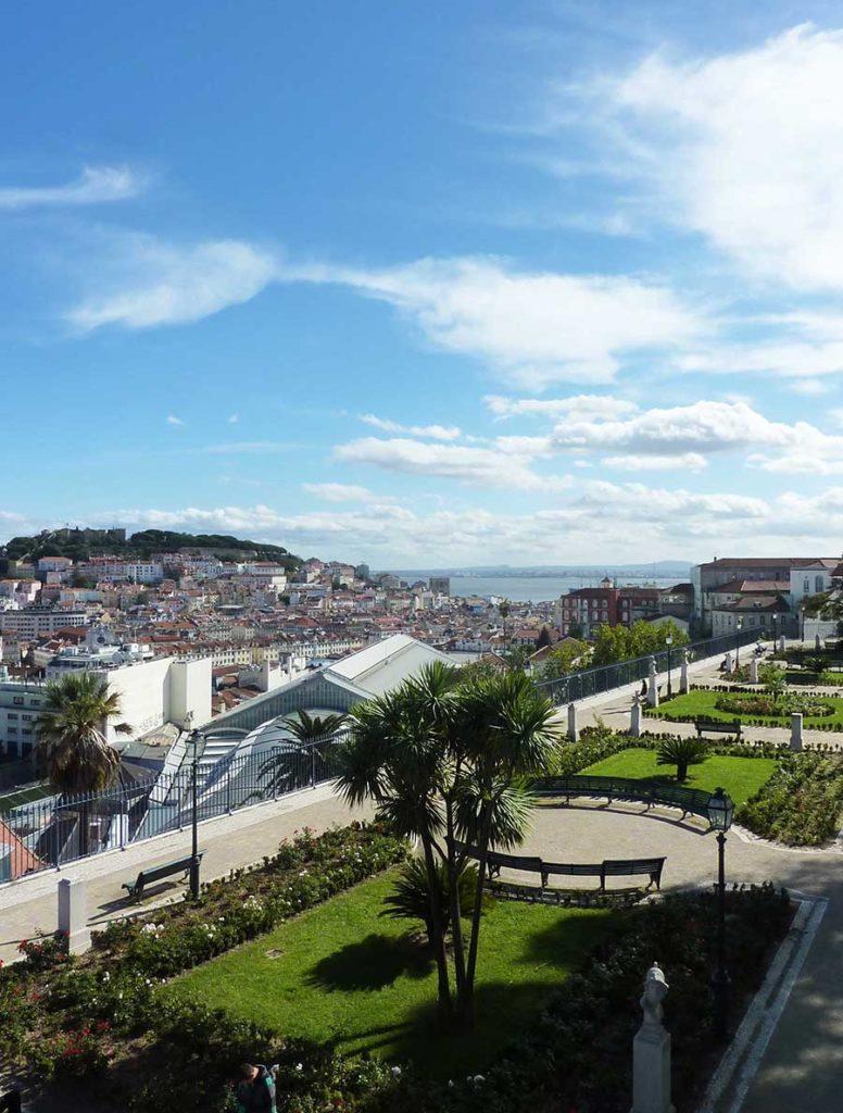Miradouro de São Pedro de Alcântara Lisbonne