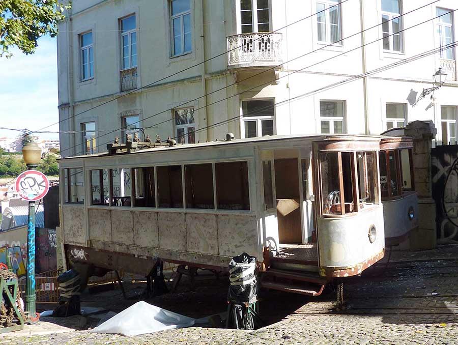 Calçada da Glória Lisbonne