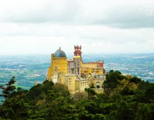 Palais de Pena a Sintra
