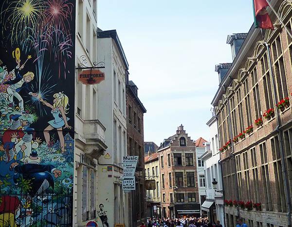 bruxelles rue chene
