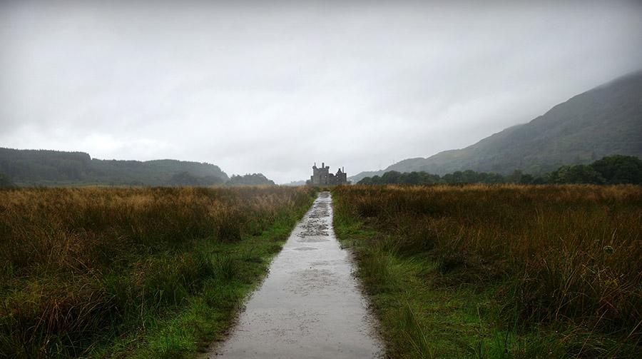 ecosse chateau kilchurn chemin