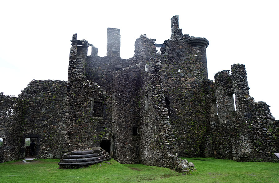ecosse chateau kilchurn ruines