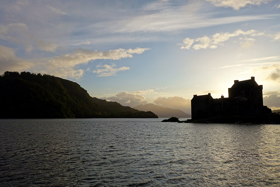 ecosse eilean donan castle