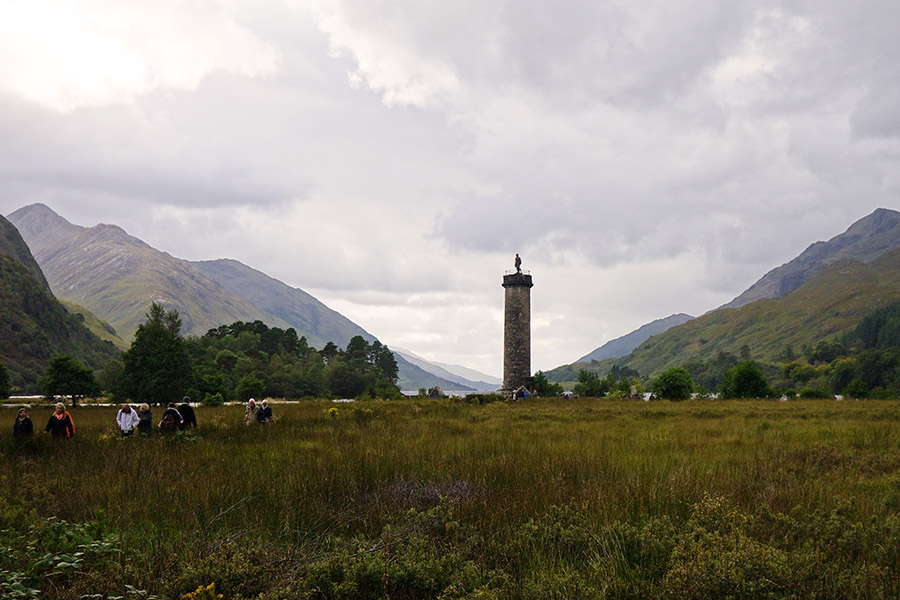 ecosse glenfinnan monument