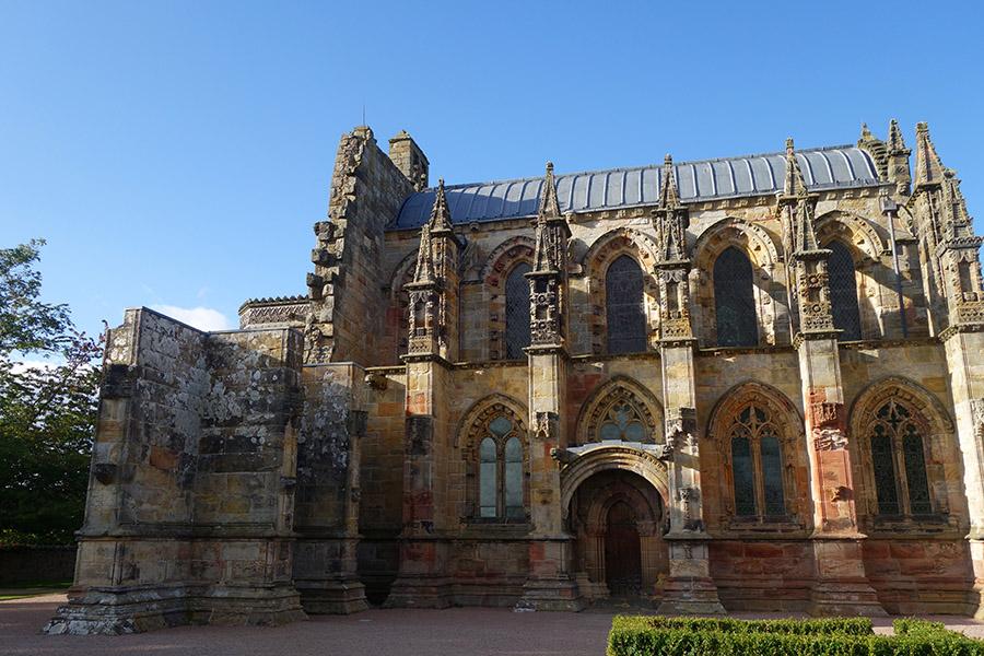 ecosse roslyn chapel