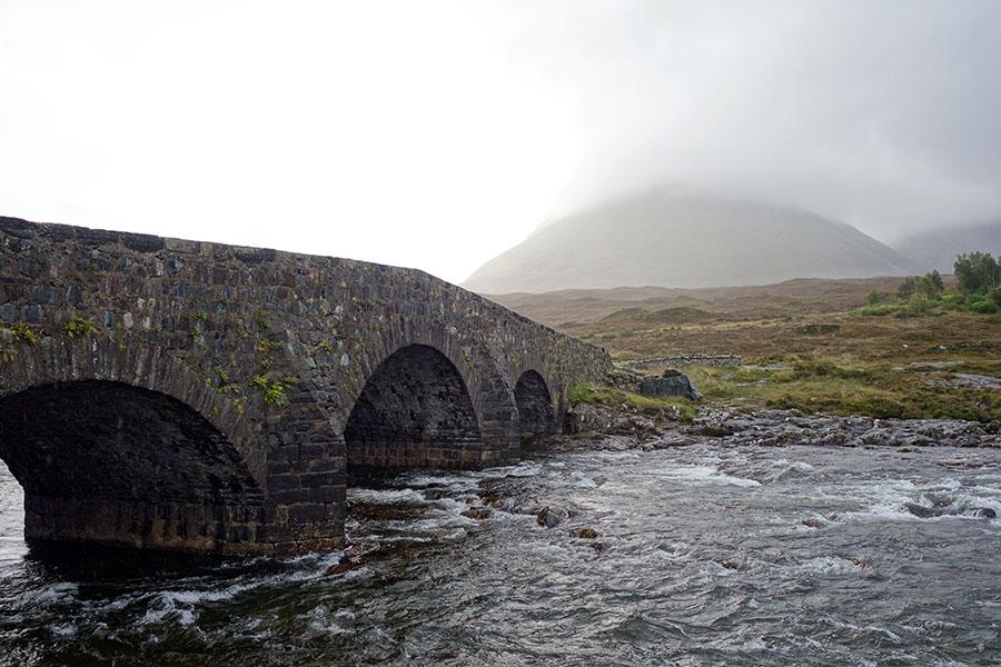 ecosse sligachan pont
