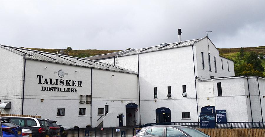 ecosse talisker distillery