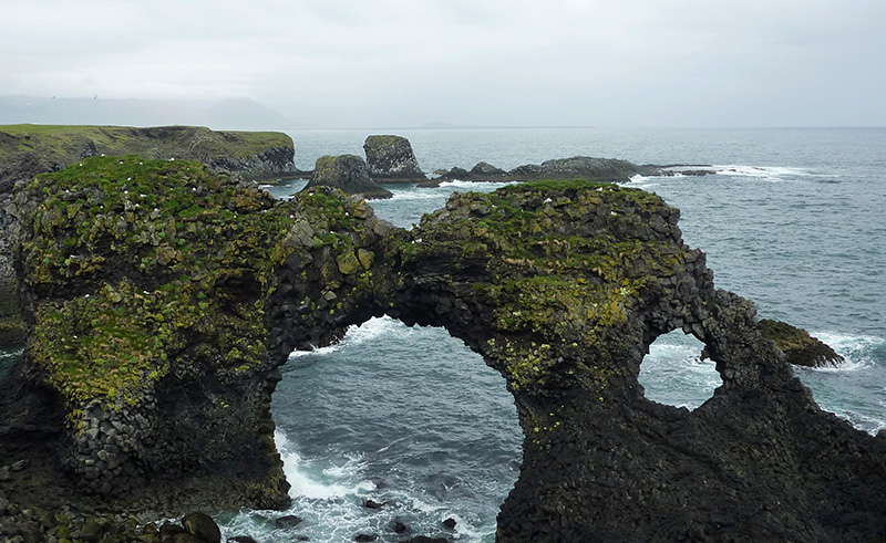 Gatklettur islande