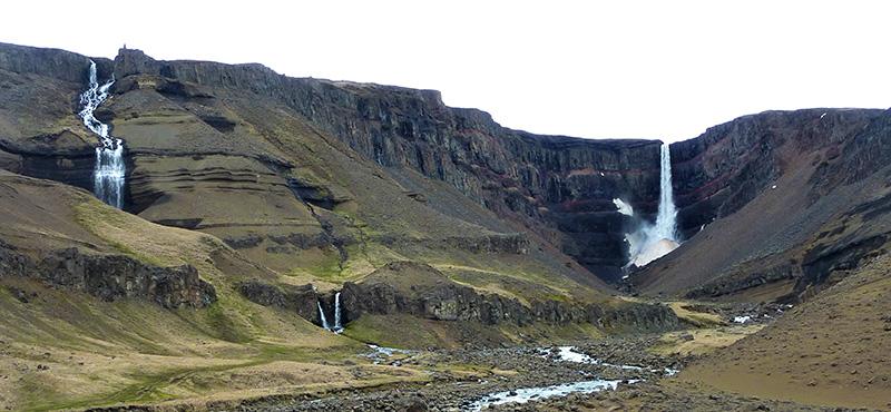 Hengifoss islande