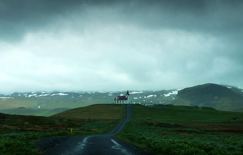 Ingjaldsholskirkja islande