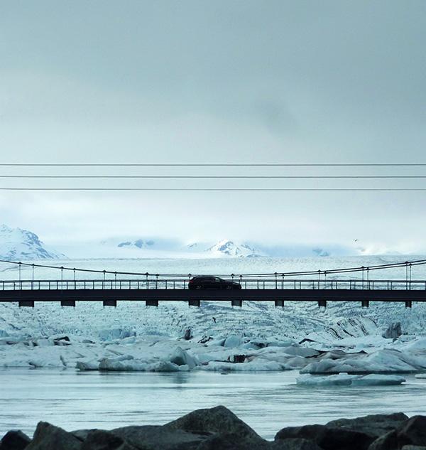pont Jokulsarlon islande