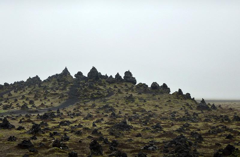champ lave Laufskalavarda islande
