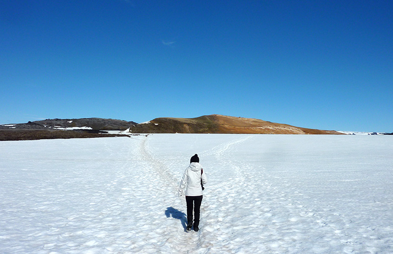 Leirhnjukur islande