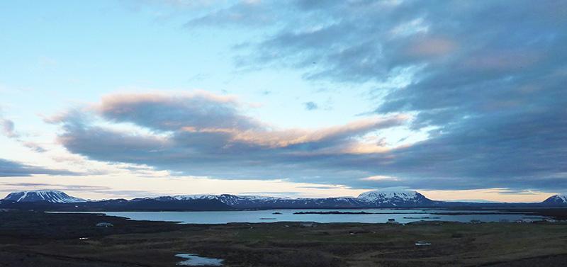 lac Mývatn islande