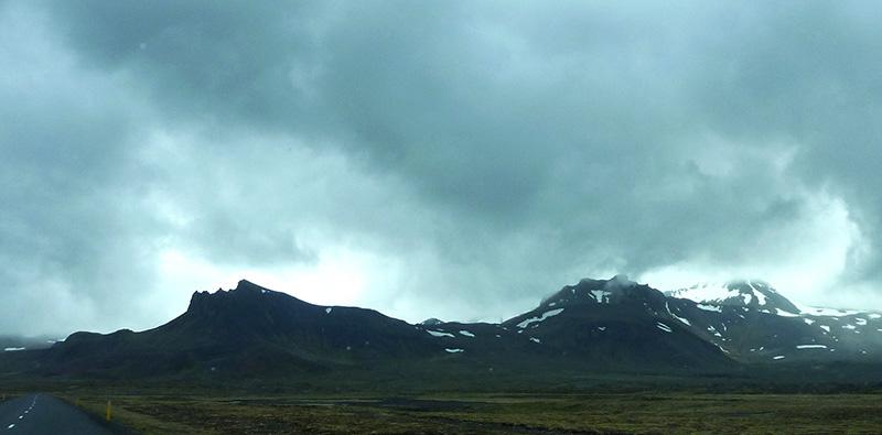 Snaefellsjokull islande