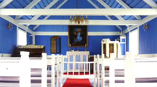 Stafafellskirkja eglise islande