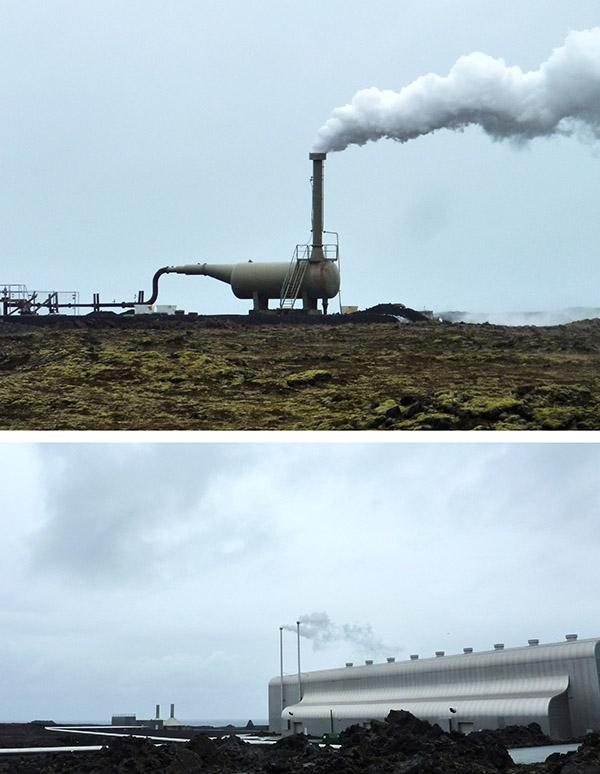 centrale Svartsengi en islande