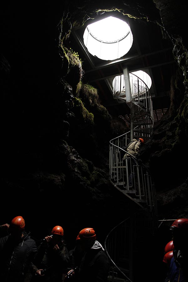 islande Vatnshellir grotte lave