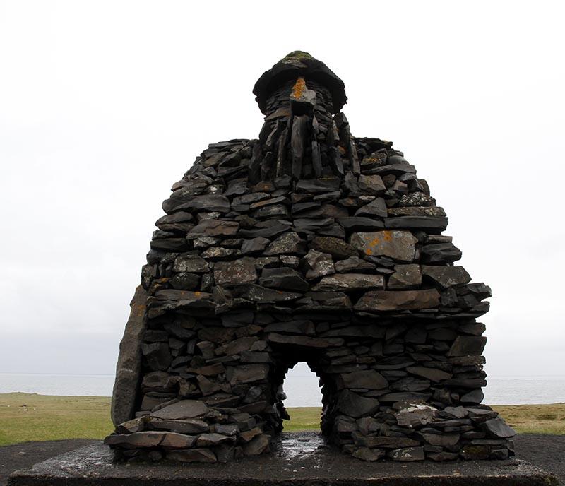 bardar saga statue islande