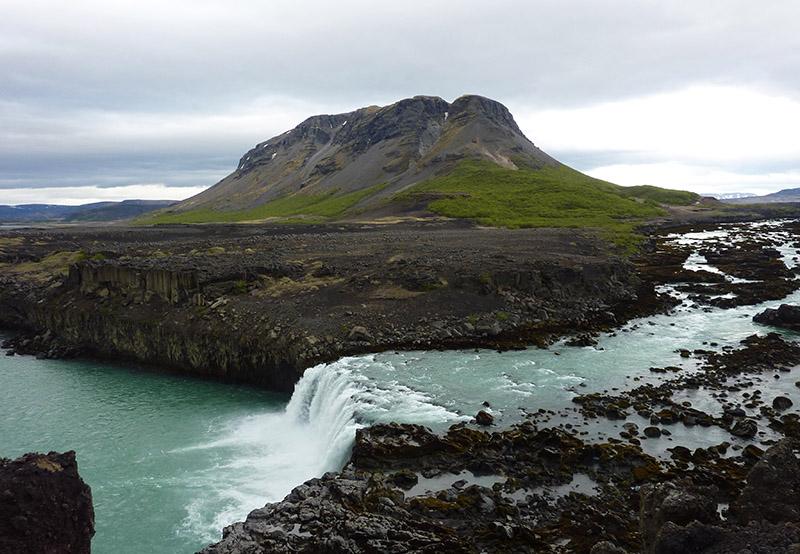 chute bjofafoss islande