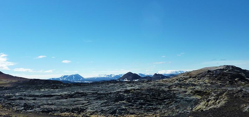 champ lave krafla islande