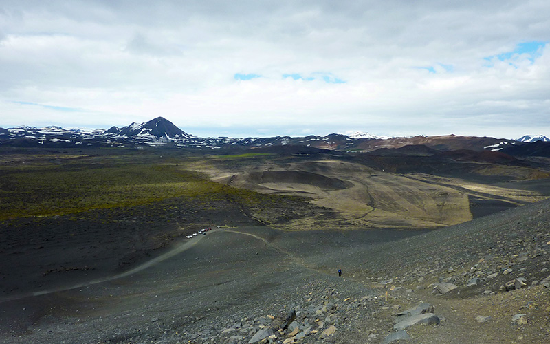 cratere Hverfjall islande