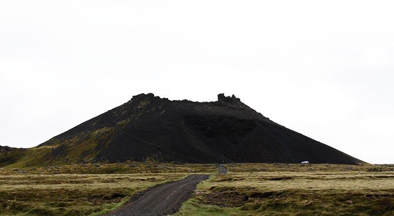 cratere Saxholar islande