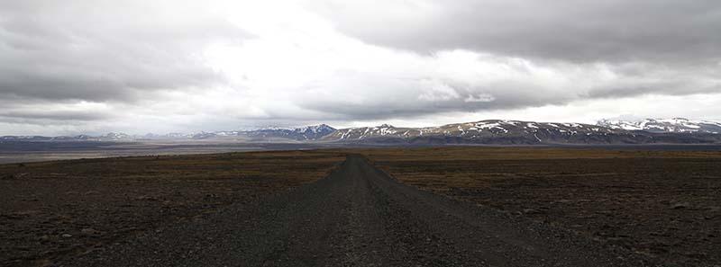 route desert islande