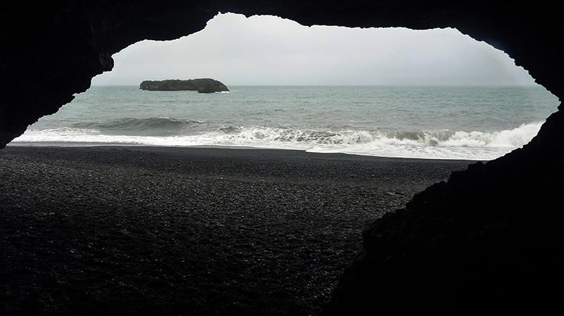 grotte Hálsanefshellir islande