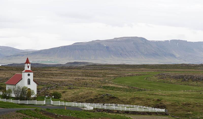 eglise helgafell islande