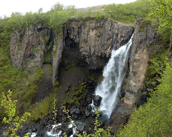 hundafoss islande