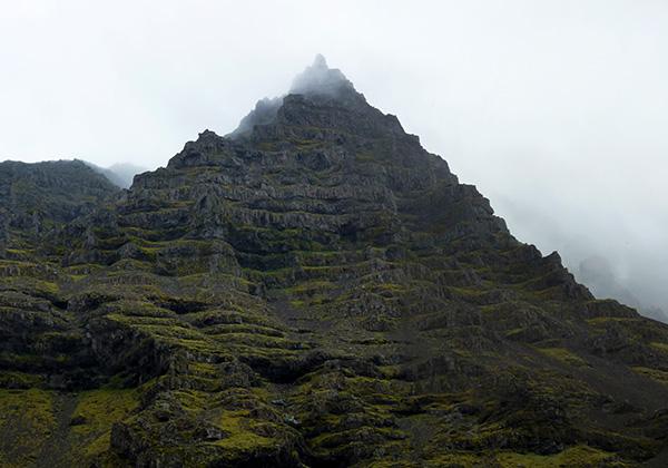 islande montagne étages