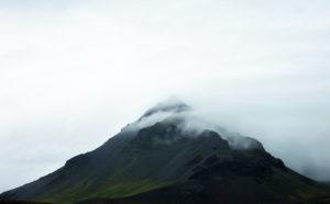 islande montagne nuages