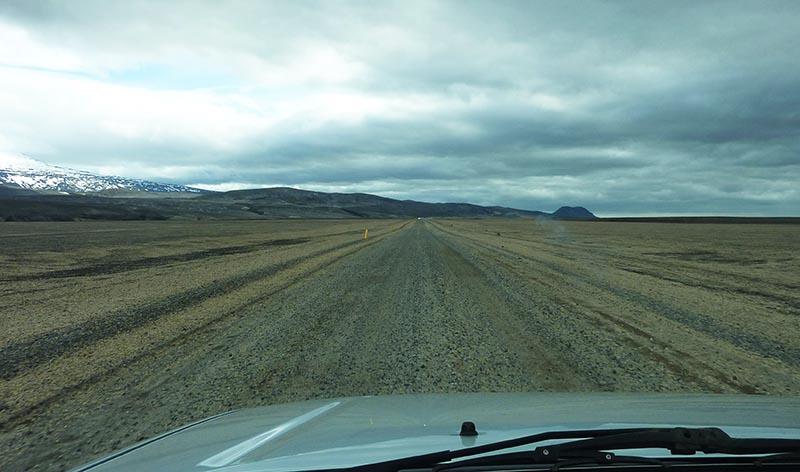 route 26 en islande