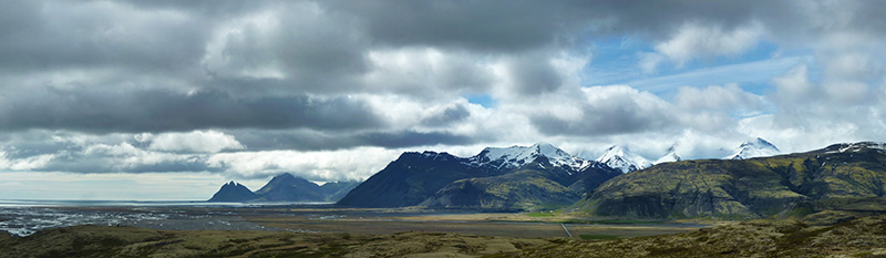 stafafell panorama islande