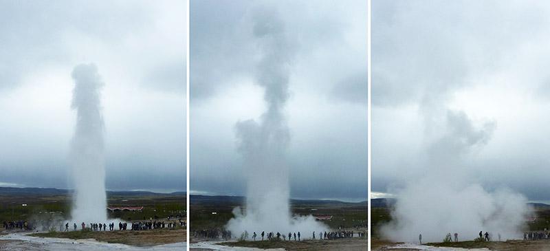 Strokkur geyser islande