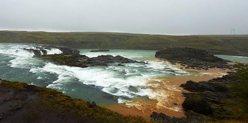 urridafoss islande