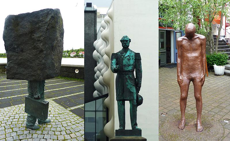reykjavik statues