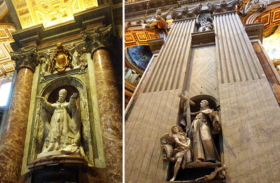 basilique saint pierre statues