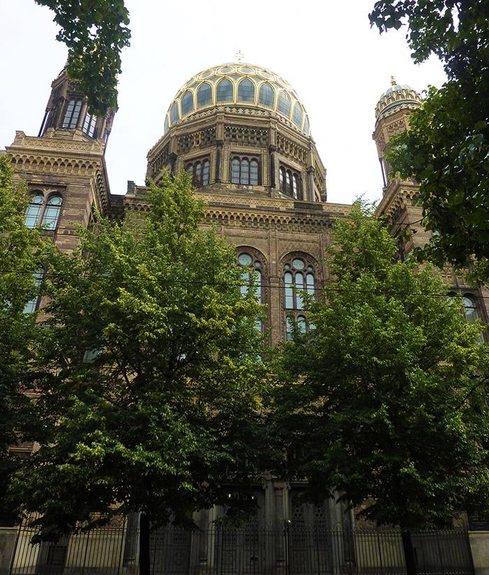berlin nouvelle synagogoue